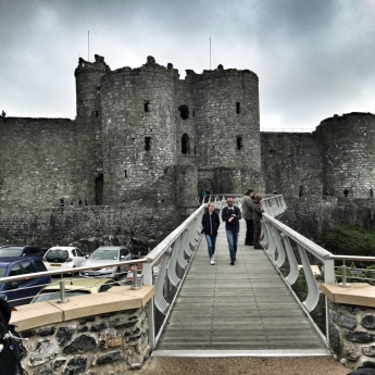 Harlech Castle, Harlech :: © image copyright Louise Badawi 2017, all rights reserved