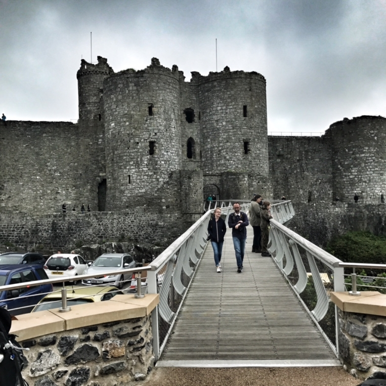 Harlech Castle, Harlech :: © image copyright Louise Badawi, all rights reserved