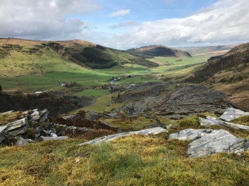Cwm Penmachno, Snowdonia :: © image copyright Louise Badawi, all rights reserved