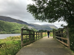Lake Padarn, Snowdonia © image copyright Louise Badawi 2017, all rights reserved