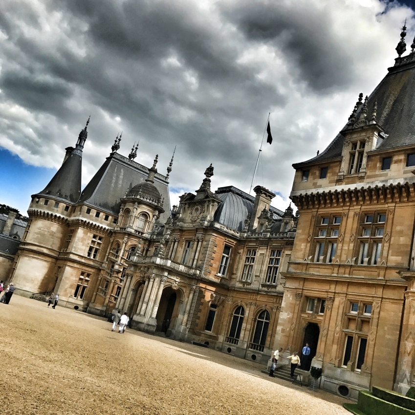 Waddesdon Manor, Waddesdon :: © image copyright Louise Badawi, all rights reserved